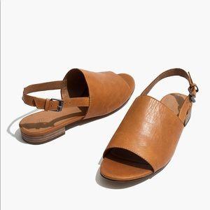 Madewell Noelle Slingback Leather Sandal